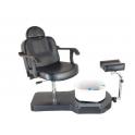 Pneumatisk fodplejestol med gaspatron sæde højdejustering Span