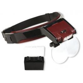 Bio Curve II pandelampe med lup-briller