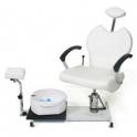 Fodplejestol med fodbad Pax